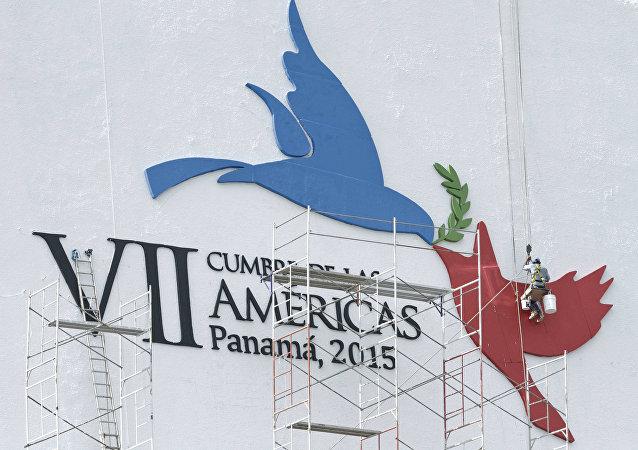 Obras de preparação da Cúpula das Américas no Panamá