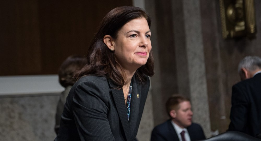 Senadora republicana por Nova Hampshire, Kelly Ayotte