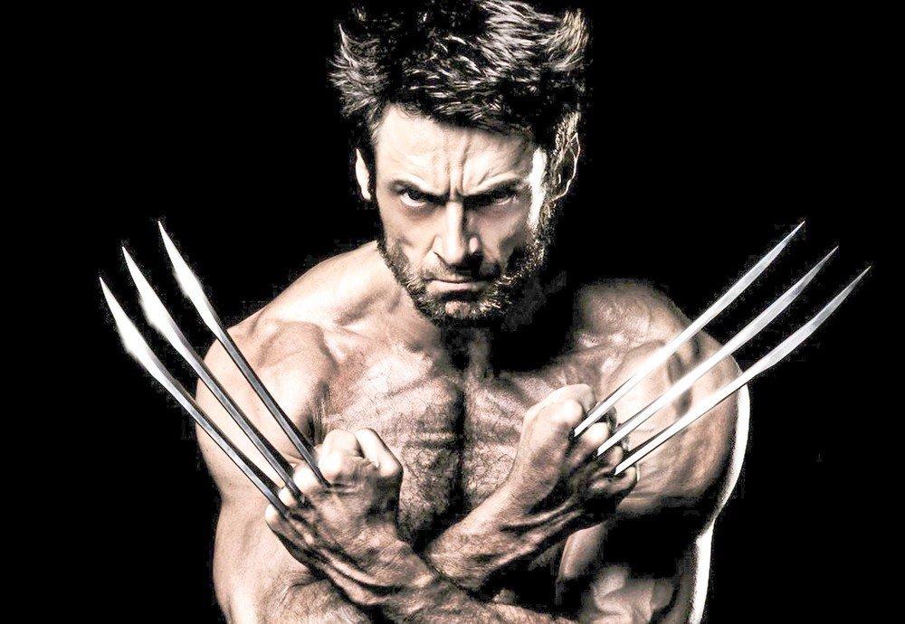 O ator Hugh Jackman é Wolverine no cinema