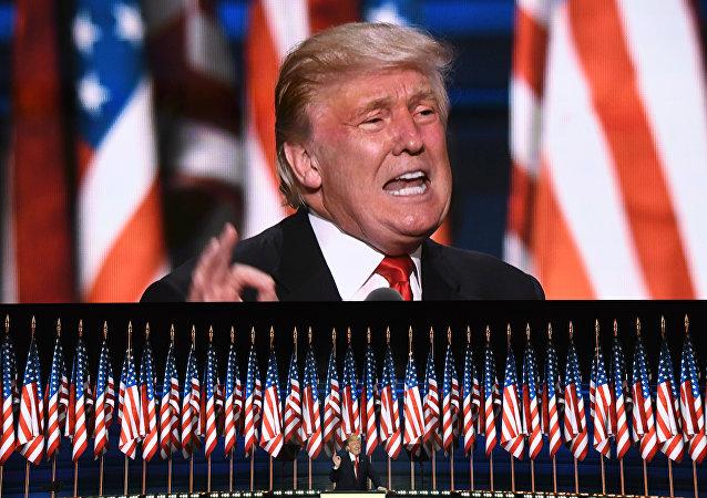 Donald Trump, 21 de julho de 2016