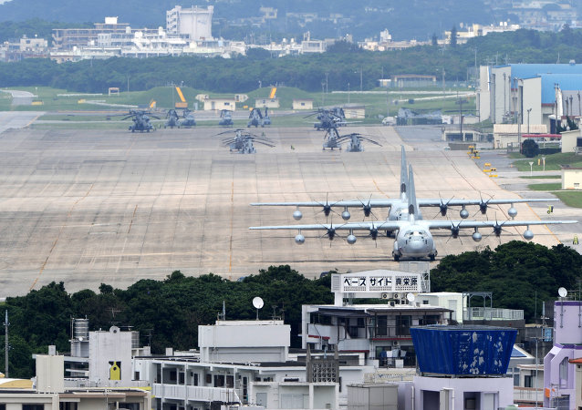 Base aérea estadunidense de Futenma, prefeitura de Okinawa
