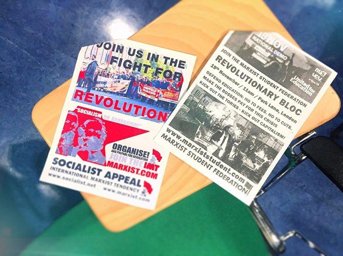 Panfletos da Sociedade Marxista da Escola de Economia e Ciência Política de Londres