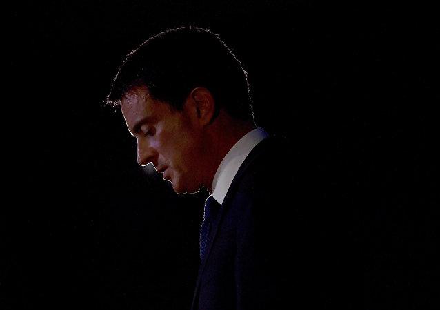 Primeiro-ministro francês Manuel Valls, 2016