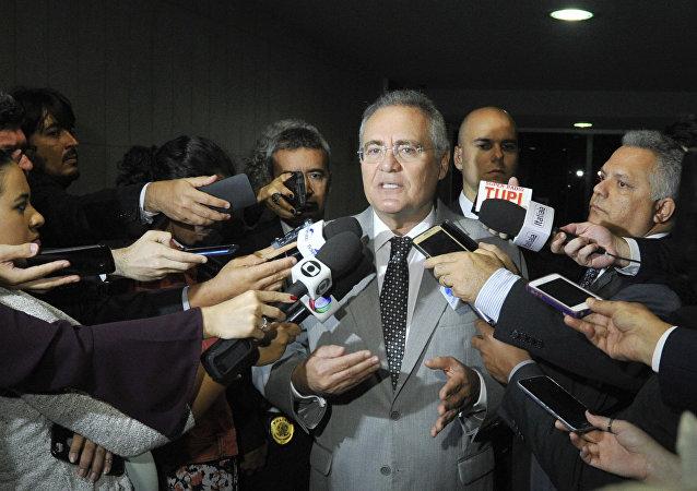 Presidente do Senado Renan Calheiros