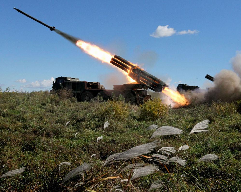 Uragan é um sistema de artilharia soviético criado para atingir força humana inimiga, inclusive abrigada, e uma série de outros alvos: postos de comando, material leve, batalhões de artilharia e alvos de infraestrutura inimiga