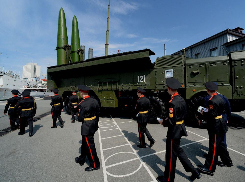 Sistema Iskander é uma plataforma para lançamento de mísseis