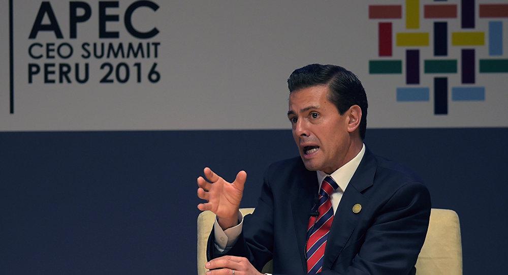 Enrique Pena Nieto APEC