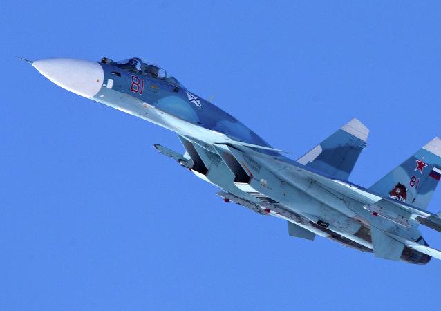 Caça russo Sukhoi Su-33