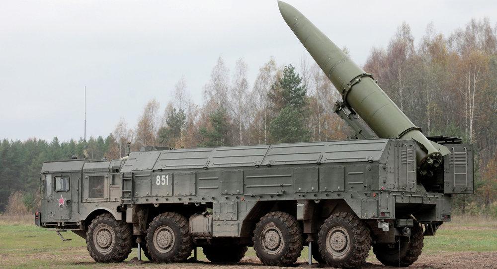 Sistema de mísseis Iskander-M.