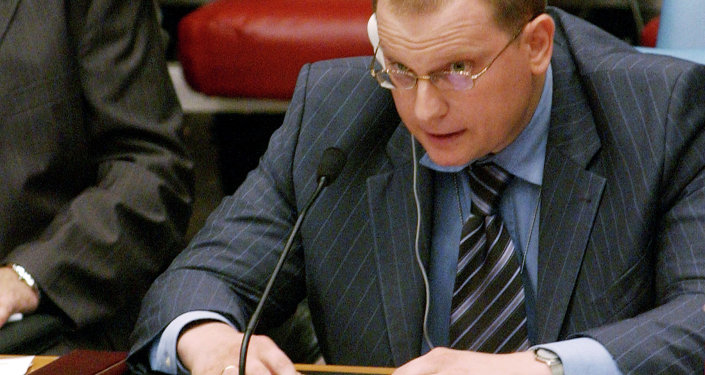 Konstantin Dolgov, comissário da chancelaria russa para Direitos Humanos, Democracia e Estado de Direito