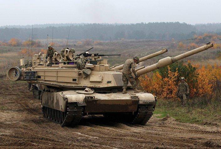 M1 Abrams tanque da batalha principal