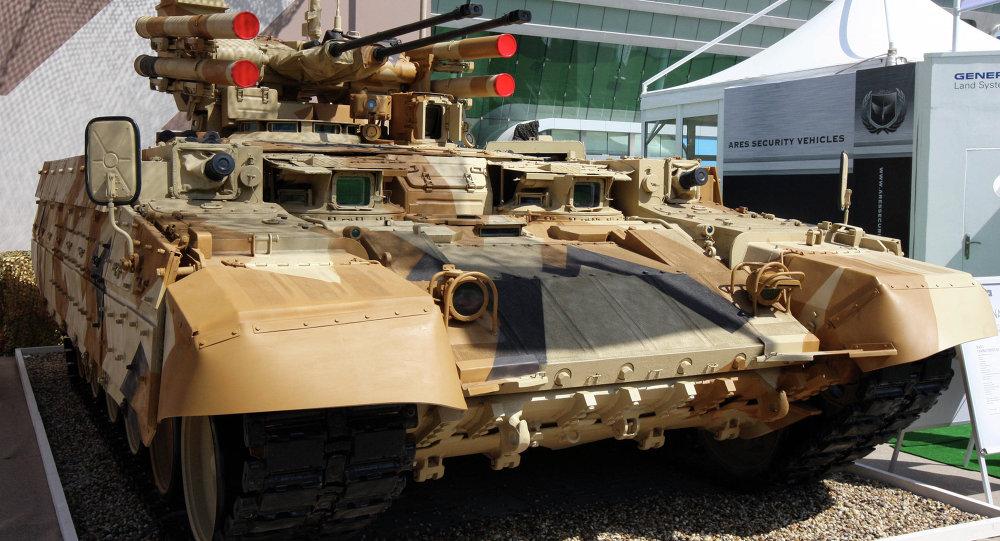 Veículo blindado de suporte e combate Terminator