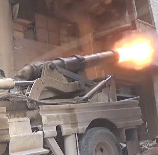 Terroristas usam canhão do século XIX na Síria