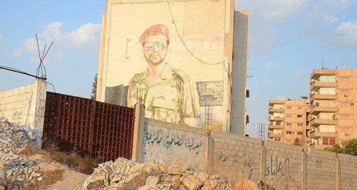 Uma operação especial no subúrbio de Damasco, na cidade de Douma