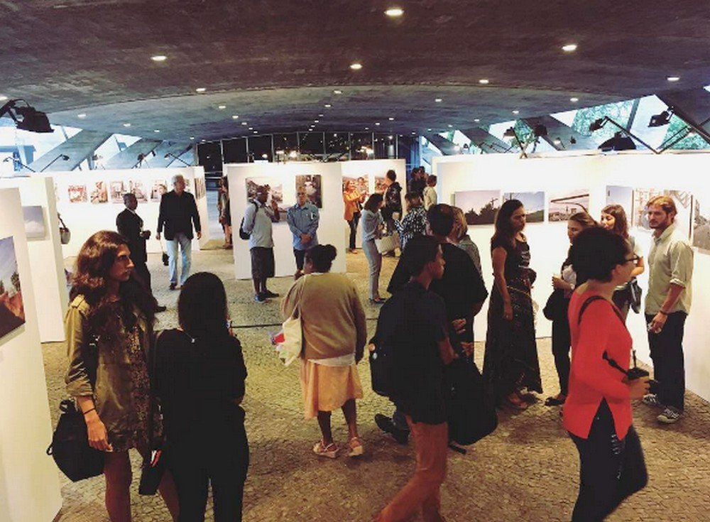 A exposição já é sucesso de público no MAM