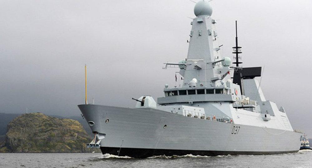 Destróier do projeto Tipo 45 HMS Duncan