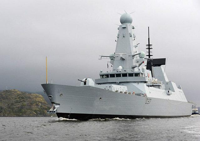 Destróier britânico do projeto Tipo 45 HMS Duncan