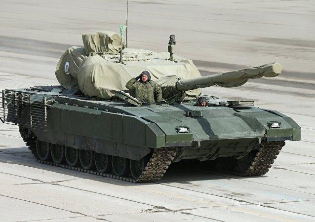 o blindado russo de nova geração Armata
