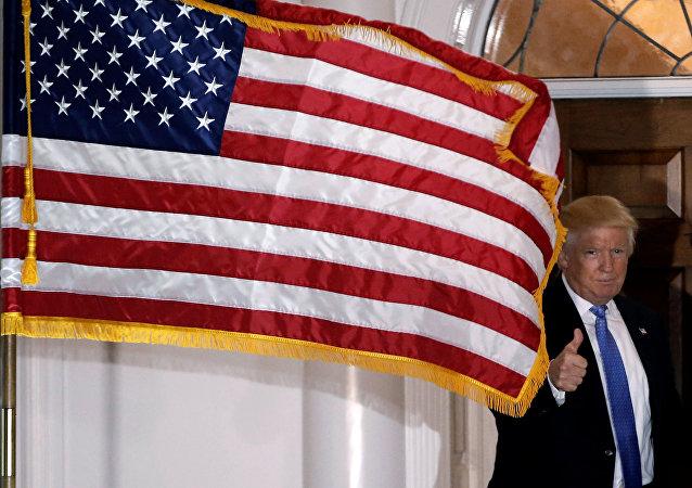 Presidente recém-eleito Donald Trump, 20 de novembro de 2016