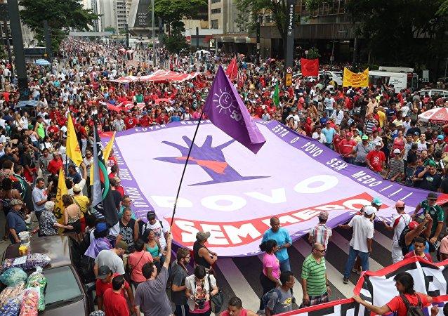 Manifestações em SP contra a PEC 55