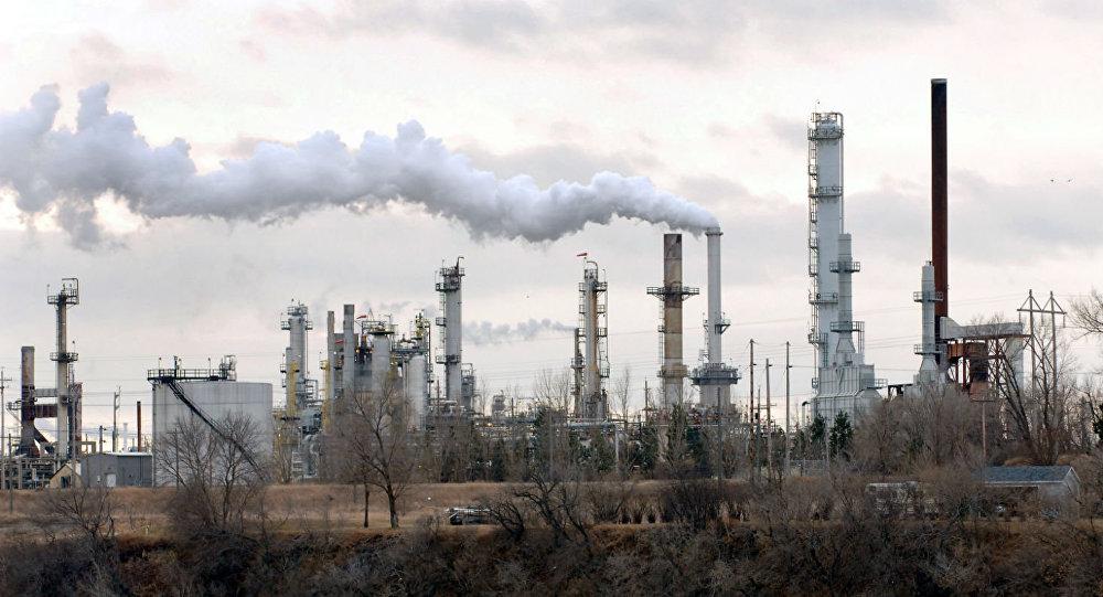 Poluição do ar.