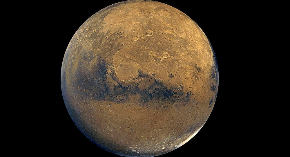 Superfície do Planeta Vermelho, Marte