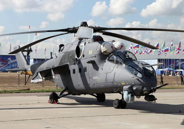 Helicóptero russo Mi-35M
