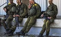 Manobras militares Spring Storm da OTAN na Estônia