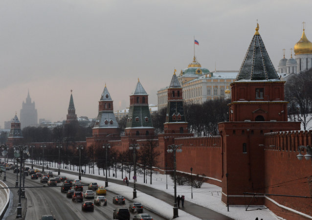 Vista do Kremlin de Moscou