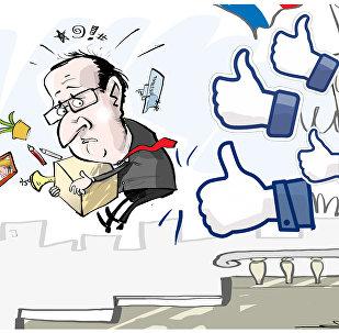 François Hollande não tentará reeleição na França em maio de 2017