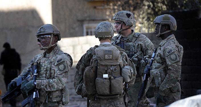 Militares dos EUA em Mossul, Iraque