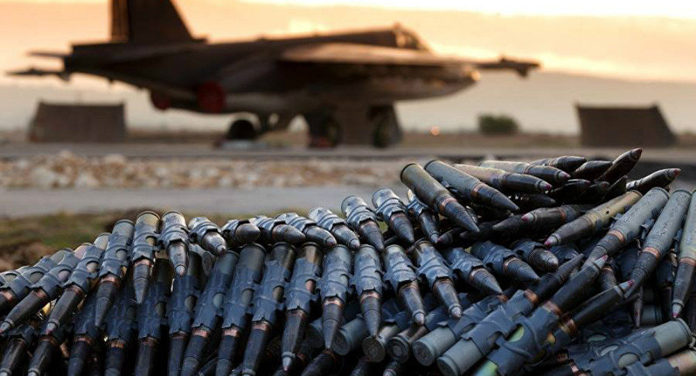 Rússia fornece mais de 710 mil toneladas de suprimentos militares para operações sírias
