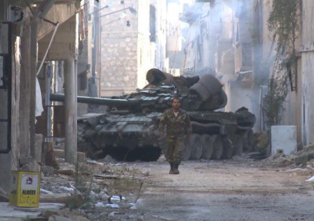 Exército sírio toma bairro de Meisar, em Aleppo Oriental