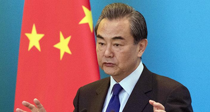 Chanceler chinês Wang Yi