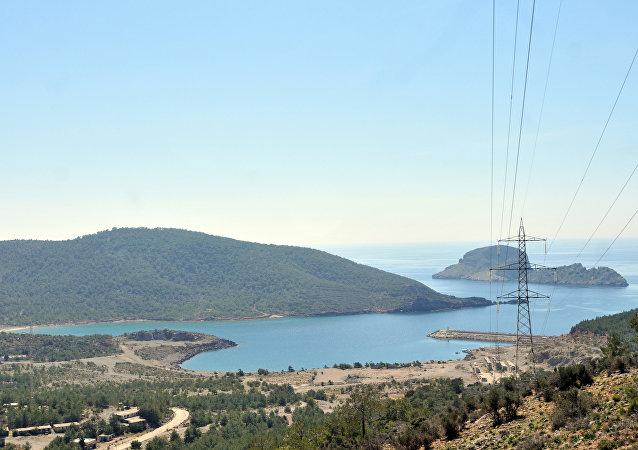 Vale de Akkuyu na província turca de Meresin, onde planeja-se construiur a primeira usina nuclear na Turquia (foto de arquivo)
