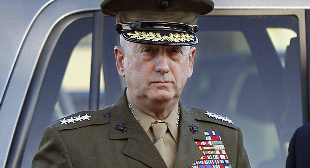 General aposentado da Infantaria da Marinha e Secretário de Defesa norte-americano, James Mattis