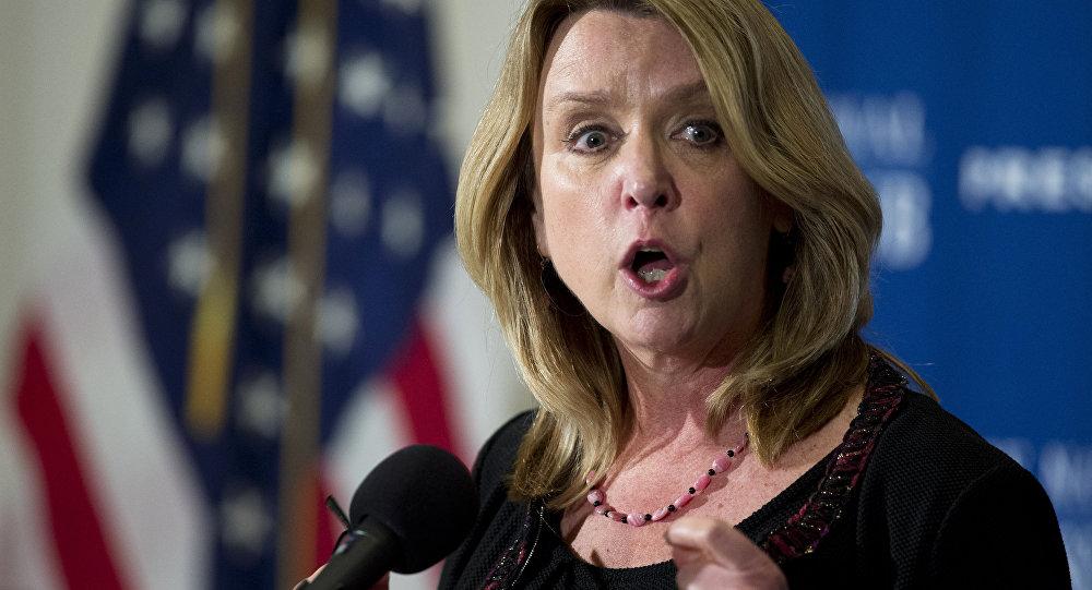 A Secretária da Força Aérea, Deborah Lee James, fala sobre cortes no orçamento, agressões sexuais e outras questões enfrentadas pela Força Aérea dos EUA