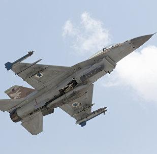 Caça F-15 da Força Aérea de Israel
