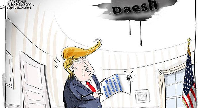 Trump terá de lidar com a herança do presidente anterior - com o Daesh