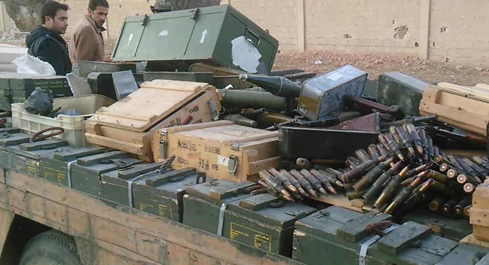 EUA suspende restrições ao fornecimento de armas aos aliados ocidentais na luta contra o terrorismo na Síria