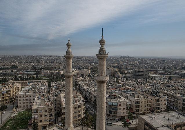 Mesquita em Aleppo