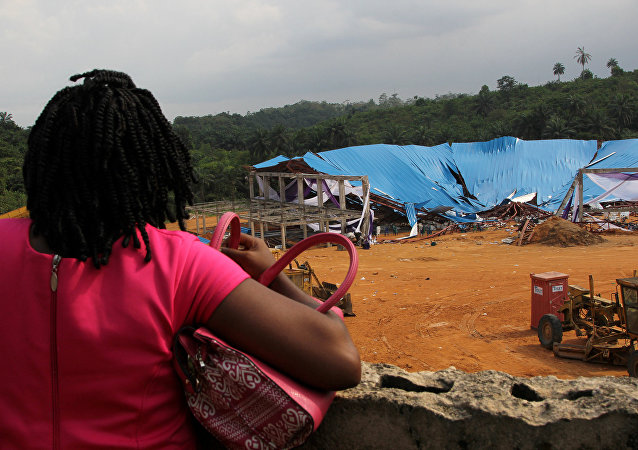 Desabamento de igreja na Nigéria
