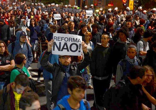 Reforma do Ensino Médio é tema de protestos pelo país