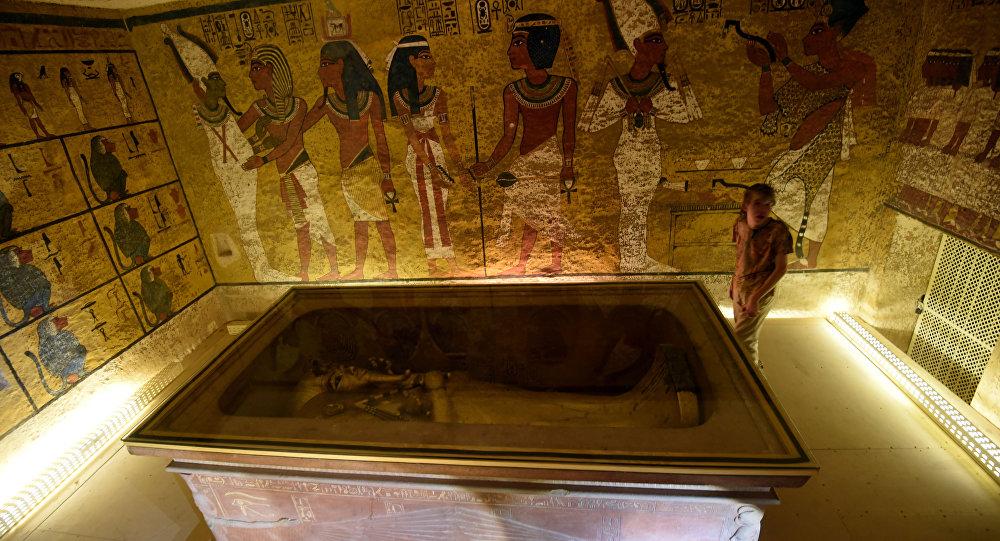 Sarcófago do rei Tutancâmon