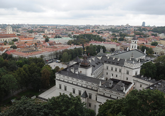 A vista de Vilnius