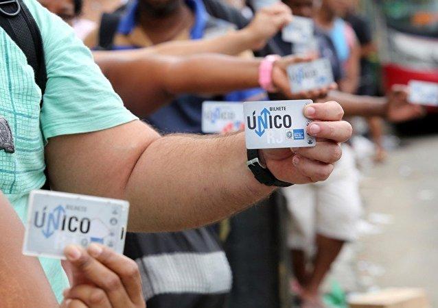 Governo do Rio consegue acordo de dívidas e mantém Bilhete Único Intermunicipal