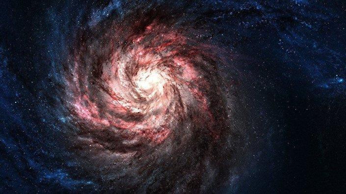 Galáxia Triangle II (foto de arquivo)
