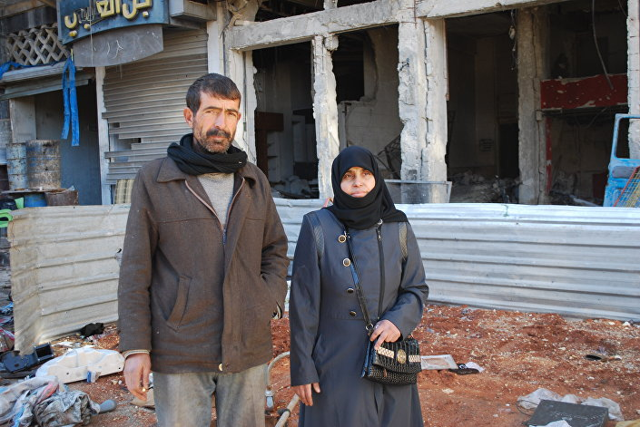 Abd al- Munim al-Hamdu, Aleppo, dezembro 2016
