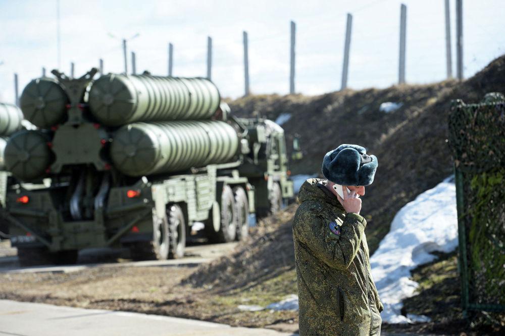 Rotina dos batalhões de mísseis antiaéreos da Rússia