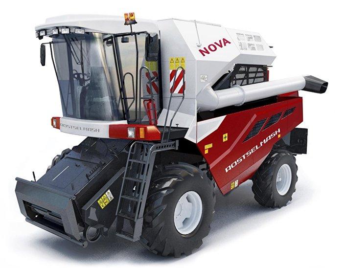 Colheitadeira NOVA (S 300) fabricada pela empresa Rostselmash